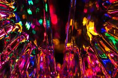 Sumário: Fundo da fantasia da luz brilhante e colorida fotos de stock royalty free