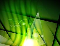 Sumário futurista alargamentos borrados e cores Foto de Stock