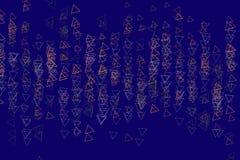 Sumário geométrico moderno do teste padrão do fundo do triângulo Detalhes, ilustração, forma & projeto ilustração do vetor