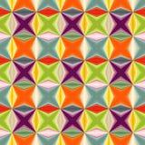 Sumário geométrico teste padrão sem emenda muito-colorido Imagens de Stock Royalty Free