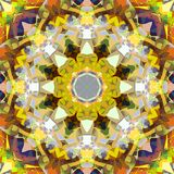 Sumário Mandala Background floral colorida da pintura de Digitas ilustração royalty free