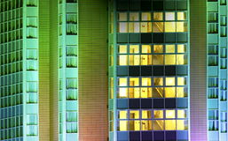 Sumário moderno do prédio de escritórios Imagem de Stock
