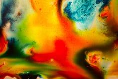 Sumário Painterly Imagens de Stock Royalty Free