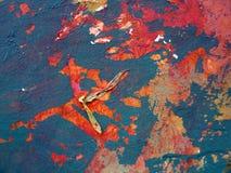Sumário pintado Fotografia de Stock Royalty Free
