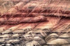 Sumário pintado do close up de Oregon dos montes fotografia de stock royalty free