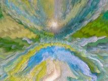 Sumário Pintura retrato Textura textured uniqueness Imagem de Stock