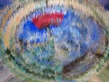 Sumário Pintura retrato Textura textured uniqueness ilustração stock