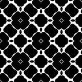 Sumário preto e branco, projeto florido corajoso sem emenda ilustração do vetor