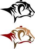 Sumário principal do leopardo ilustração royalty free