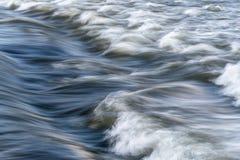 Sumário rápido do rio Fotografia de Stock