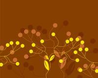 Sumário retro das flores Imagem de Stock