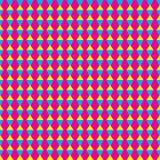 Sumário sem emenda colorido do teste padrão Fotografia de Stock