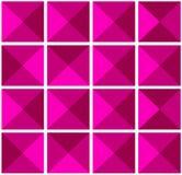 Sumário, teste padrão sem emenda geométrico Pirâmide do triângulo Elementos de volume Molde para o projeto do estilo Polígono, fu Imagens de Stock