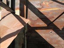 Sumário urbano da sombra da estrutura foto de stock