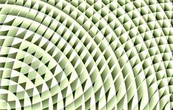 Sumário verde e branco do teste padrão imagens de stock