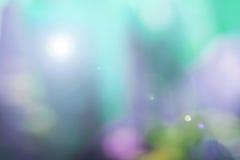Sumário verde natural do borrão de movimento Fotografia de Stock Royalty Free