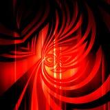 Sumário vermelho com teste padrão elegante ilustração stock