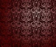 Sumário vermelho do papel de parede Fotografia de Stock