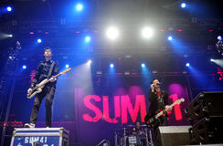 SUM 41 Royalty Free Stock Image