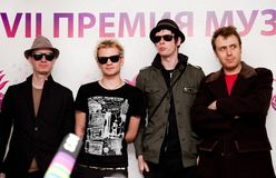 Sum 41 Royalty Free Stock Photography