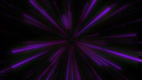 Sum?rio da urdidura ou do movimento hyperspace na fuga da estrela azul. Movimento de explos?o e de expans?o ilustração stock