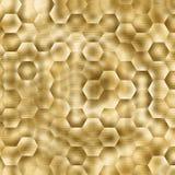 Sum?rio geom?trico do fundo da textura do ouro backdrop ilustração royalty free