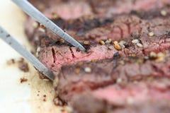 Sumac a épicé le bifteck photo stock