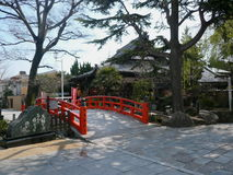 Sumadera temple, Kobe, Japan Royalty Free Stock Photography