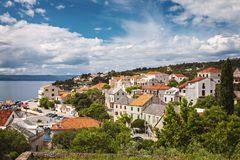 Sumartin village on Brac Stock Photography