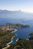 Sumartin village on Brac island in Croatia Stock Photo