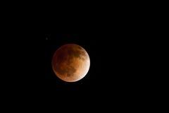 Sumaryczny Księżycowy zaćmienie Zdjęcie Royalty Free