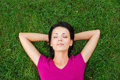 Sumaryczny relaks Fotografia Stock