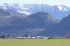 Sumas山脉 库存照片