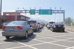sumas amerykański przejście graniczne Washington Fotografia Royalty Free