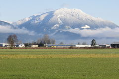 Sumas Mountain. Mt. Sumas overlooks some of North Americas richest agricultural land in south west British Columbia and western Washington State stock images