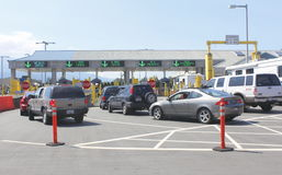 Sumas, Washington American Border Crossing Royalty Free Stock Photo