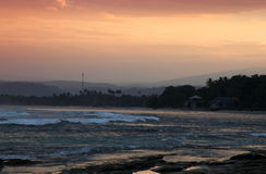 Sumatra Sunset Royalty Free Stock Image