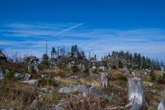 Sumava Góry Fotografia Royalty Free