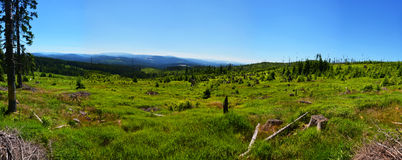 Sumava, il parco nazionale di Sumava, Fotografia Stock