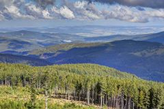 Sumava Landscape Stock Photo