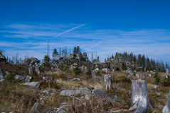 Sumava Mountains Royalty Free Stock Photography