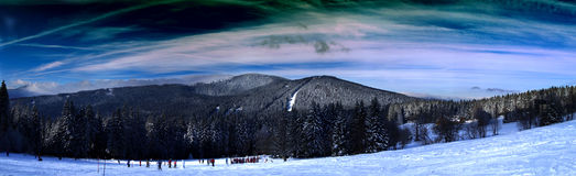 Sumava mountains Stock Image