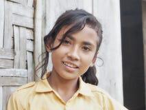 Sumbanese女孩 免版税图库摄影