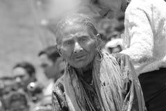 Sumbanese kvinna Royaltyfri Foto
