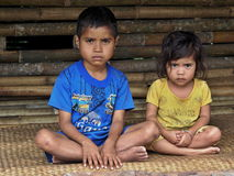 Sumbanesekinderen Stock Foto