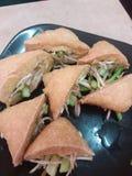sumbat bakar del tauhu de Malasia del malasio de la comida fotografía de archivo libre de regalías