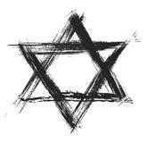 Sumbol de judaïsme illustration stock