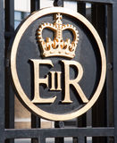 Sumbol de la reina Elizabeth Foto de archivo