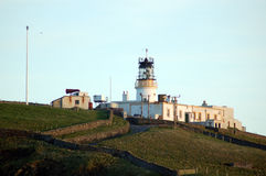Sumburgh Lighthouse royalty free stock photography