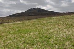 Sumburk,Doupovske hory , Czech republic Stock Images